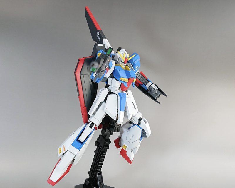 HGUC Z Gundam shoots a beam rifle1