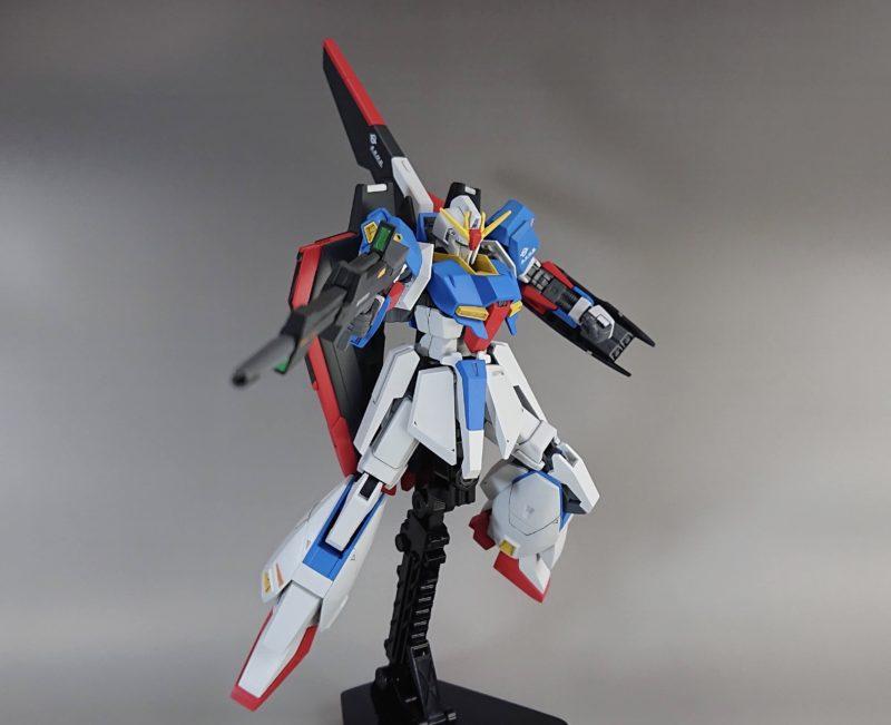 HGUC Z Gundam shoots a beam rifle2