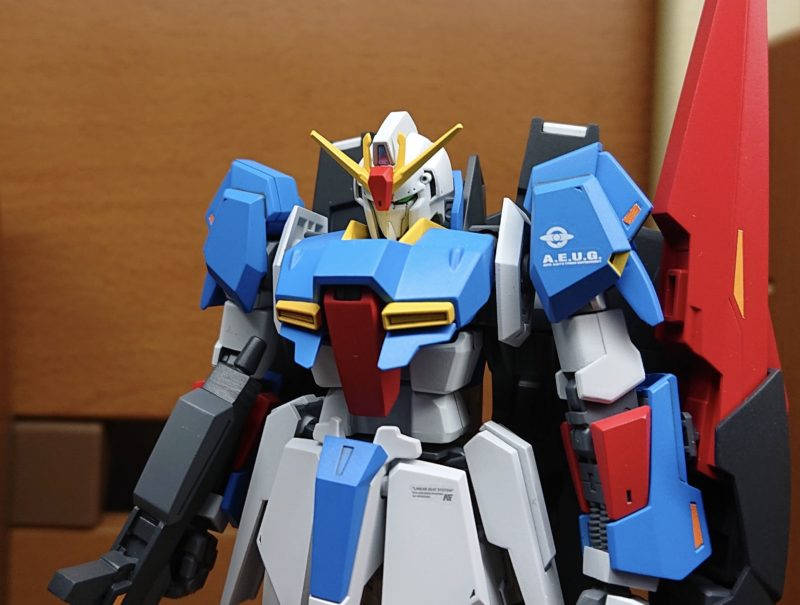 HGUC Z Gundam painting assembly completed Upper body enlarged photo