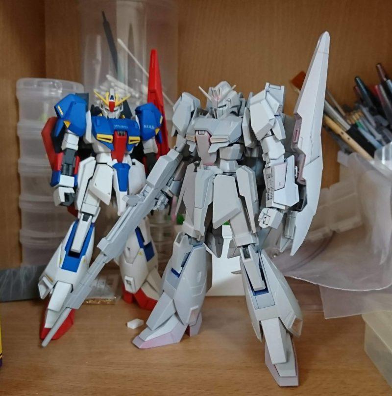 HGUC Z Gundam surfacer spraying