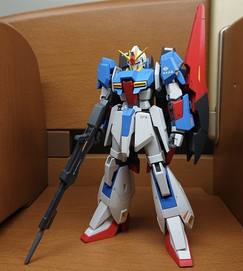 HGUC Z Gundam painting and assembly completed