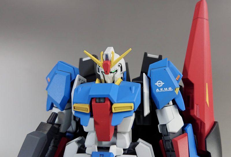 HGUC Z Gundam front view1