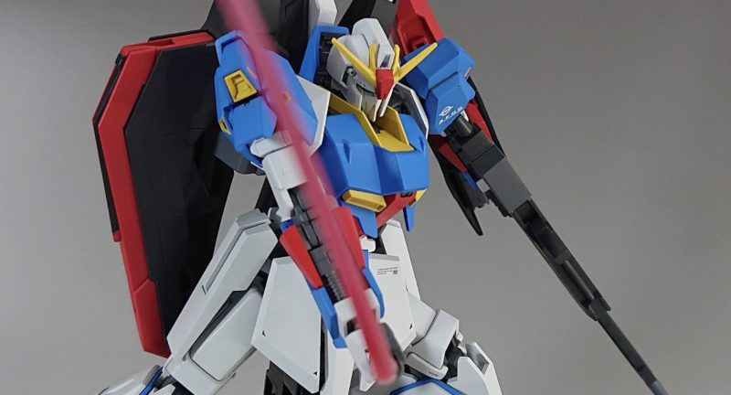 HGUC Z Gundam Slashes with Beam Saber1